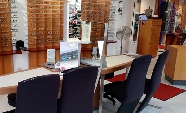 Brillen Plaz Biebertal, Store, Innenansicht