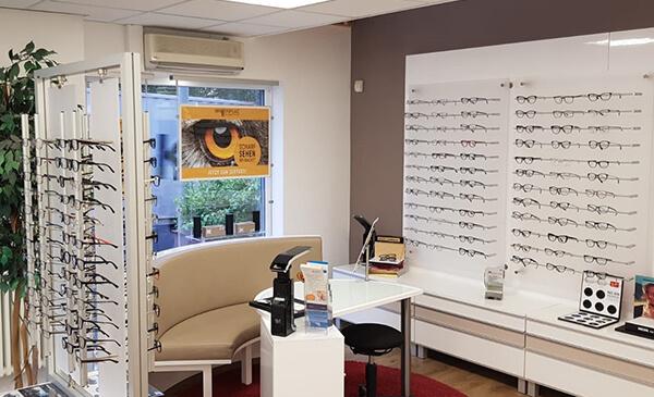 Brillen Plaz Brechen, Store, Innenansicht