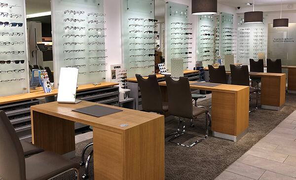 Brillen Plaz Elz, Store, Innenansicht
