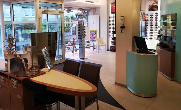 Brillen Plaz Linden, Store, Innenansicht